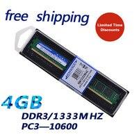 KEMBONA Gloednieuwe verzegeld PC DESKTOP LONG-DIMM DDR3 4 gb 1333 PC10600 ram memoria 1333D3N9/4G voor alle moederbord