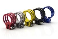 31 8MM CNC GUB G 550 Aluminum Alloy MTB Bike Road SeatPost Clamp QR Quick Release