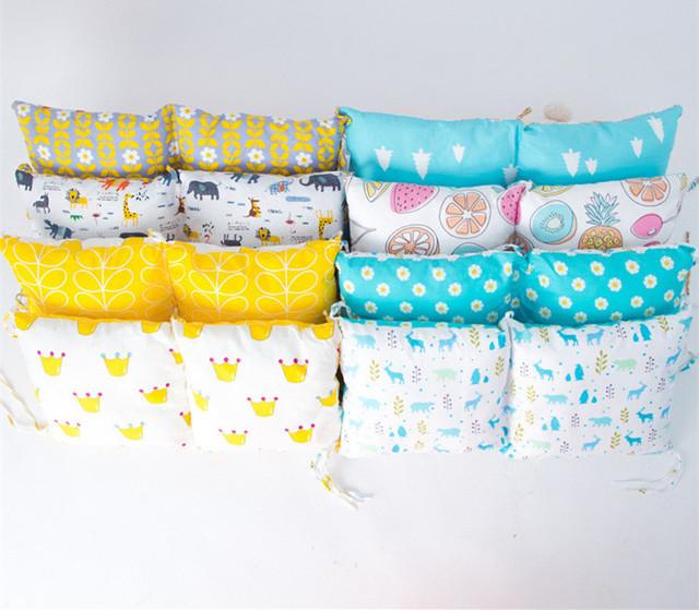 Travesseiros de Algodão bonito Do Bebê Dos Desenhos Animados Colorido Destacável Tipo de Proteção Ambiental Impressão Fruto Multifuncional Navio Livre 1 pcs