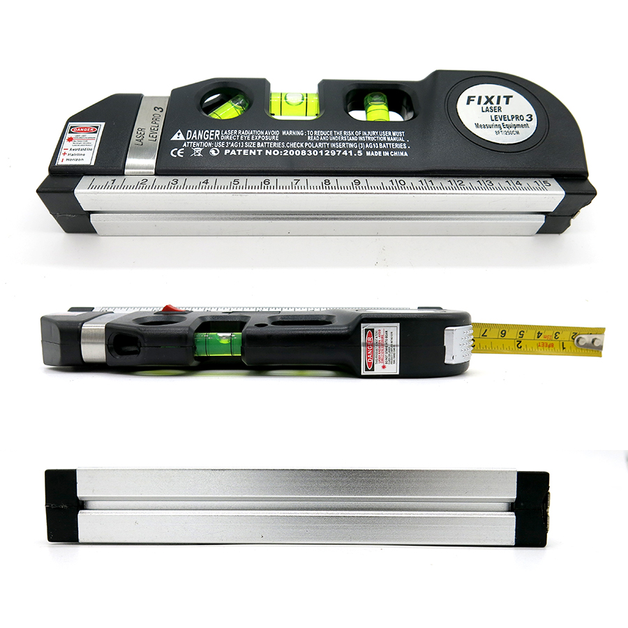 Levelling Instrument With Horizon Vertical Laser 8 Foot 250cm Measuring Tape 2way Level Bubbles Rulers Smart In Instruments From Tools On