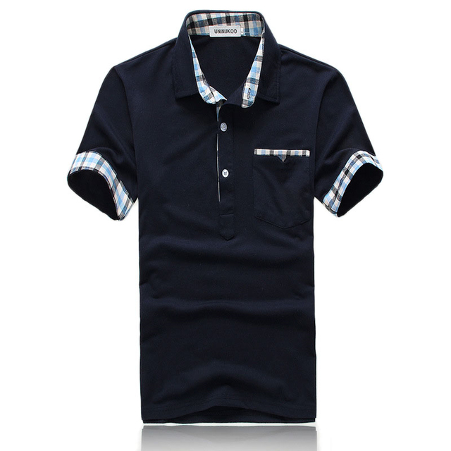 Top Quality Mens Plaid Polo Shirts Brands Designer Polo Men Shirt Short Sleeve Cotton Tee Solid Color Daily Casual Wholesale
