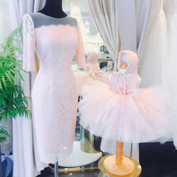 Party Dress Mother and Daughter Mom and Baby Girl Dress Matching Clothes Mother and Daughter Evening Dresses Matching Outfits