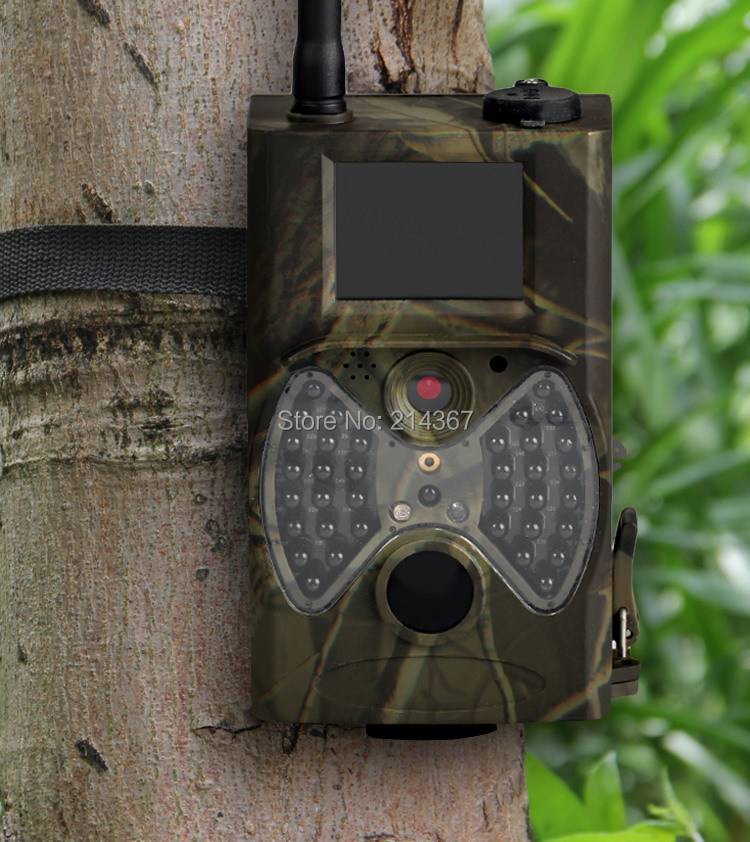 12MP HD GSM MMS Hunting Game Cameras GPRS Wild Camera GPRS MMS ...