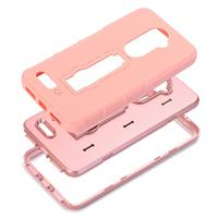 Hard Soft Rubber Impact Armor Case Back Hybrid Cover For ZTE Zmax Pro Z981 Of 2017