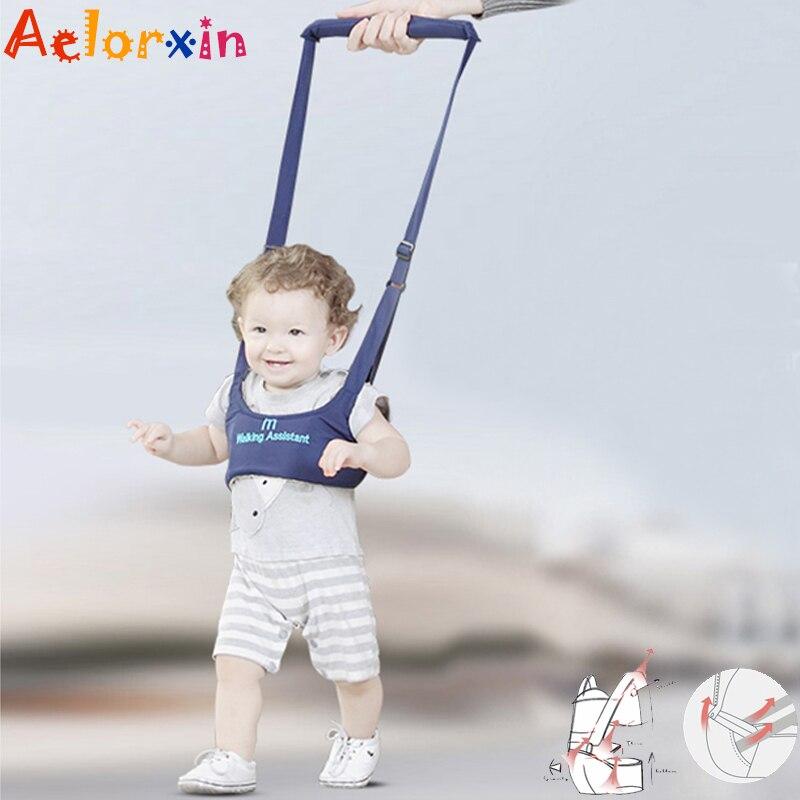 8-18 Months Baby Walker Harness Infant Toddler Walk Learning Assistant Jumper Strap Belt Safety Walk Belt Baby Walking Backpack