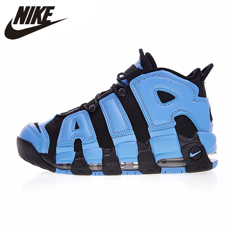 hot sale online d03ea 6f377 Nike Air More Uptempo Men Running Shoes, Pippen Big Air Obsidian Blue,  Quickly Vents