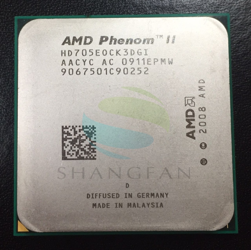 AMD Phenom X3 705e 2.6GHz Triple-Core CPU Processor  HD705EOCK3DGI 65W Socket AM3 938pin