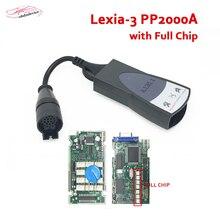 2018 Chips Completo Diagbox Lexia3 PP2000 V48 V7.83 Scanner PP2000 V25 XS para Citr0en/Peuge0t 3 Prefessional Diagnóstico Lexia ferramenta