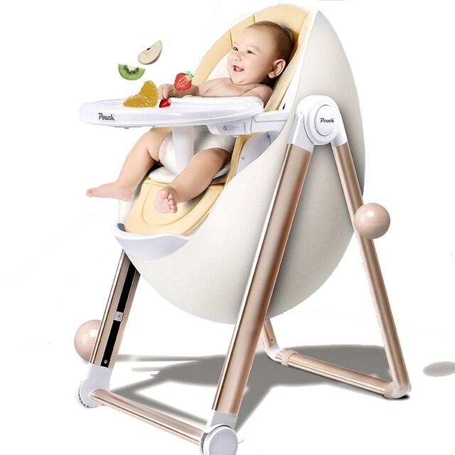 Europea Multi funcional para niños Silla de comedor cómodo Suave 4 ...