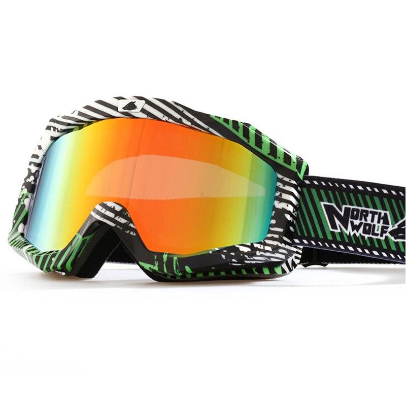 2017 Nueva Marca Profesional de Gafas de Esquí 2 Doble Lente Anti-vaho UV400 Gra