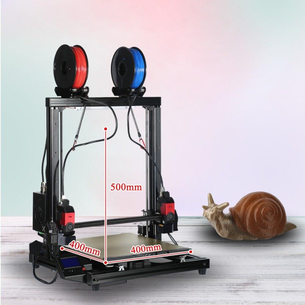 Open source RepRap pas cher 3D Imprimante DIY Kit avec 0.4mm Buse 1.75mm Filament
