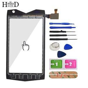 Image 2 - 4.0 téléphone portable tactile verre pour Mann ZUG3 ZU G3 ZUG 3 A18 ip68 écran tactile verre numériseur panneau outils capteur adhésif gratuit