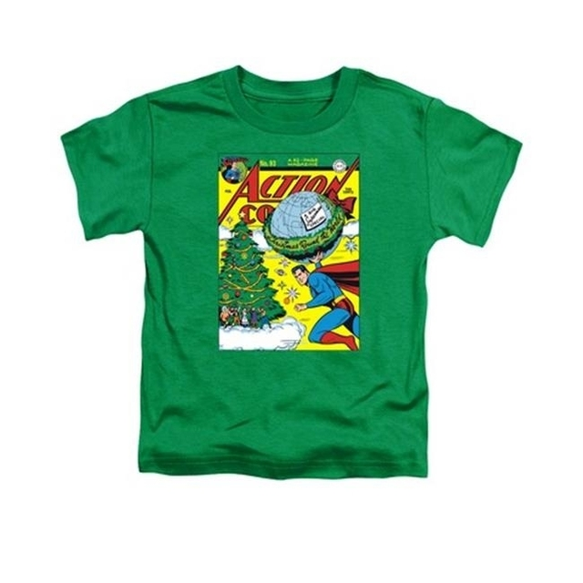 Trevco Dc-Cover No. 93 – Short Sleeve Toddler Tee – Kelly Green Large 4T