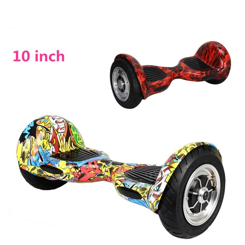 Hoverboard 10 pouces skateboard 2 roues Smart Balance Scooter Hover board volant Oxboard