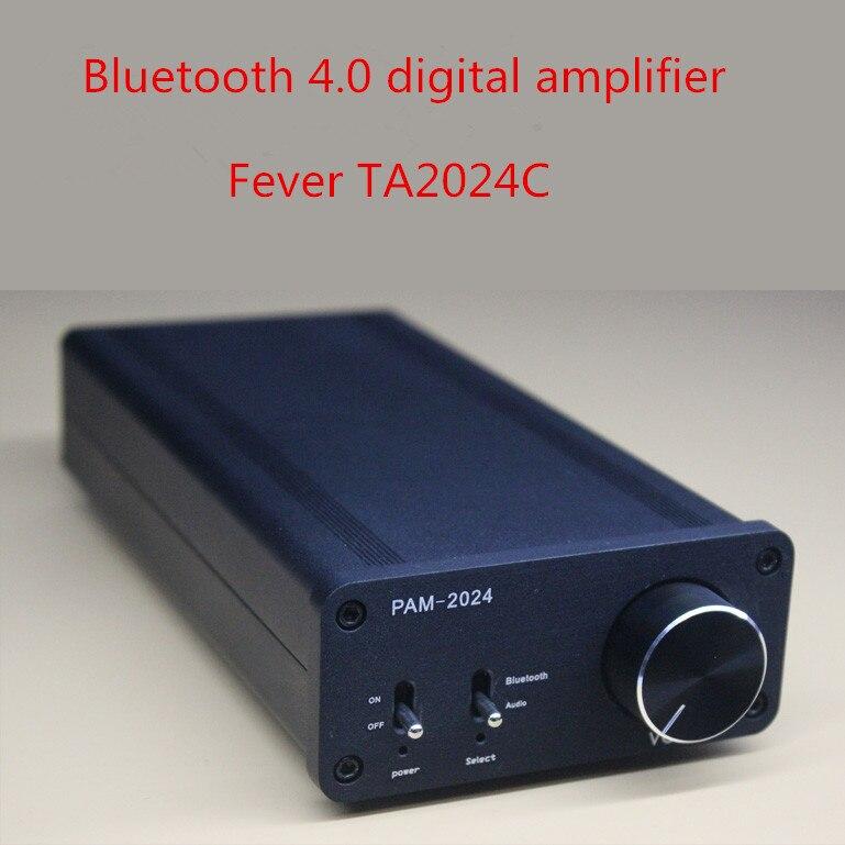 Здесь продается  DC12V 15W +15W 2.0 channel mini TA2024 digital amplifier Bluetooth desktop amplifier  Бытовая электроника