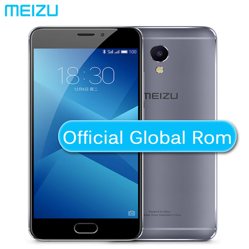 Meizu M5 обратите внимание на китайском языке 4 аппарат не привязан к оператору сотовой связи Helio P10 Восьмиядерный Мобильный телефон 5,5