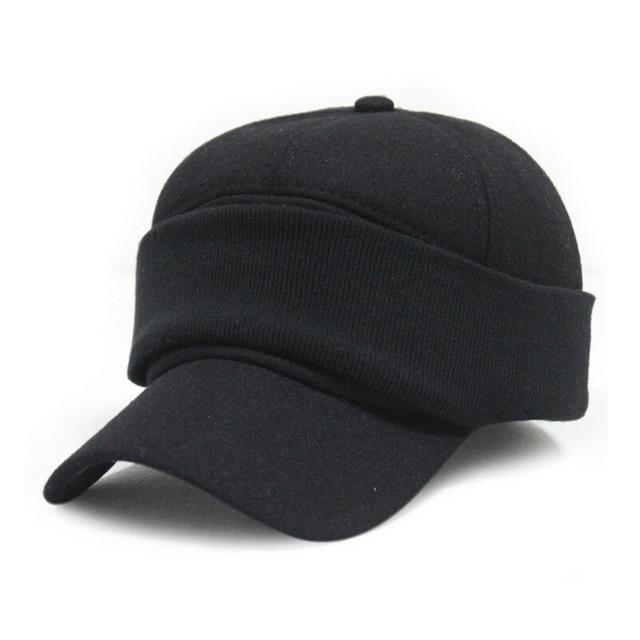 Winter warm Baseball cap ear protection caps face protectors male hat female cotton hats 2color 1pcs brand new arrive