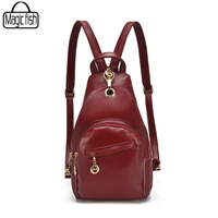 Charm In Hands Special Leather Backpack Hot Mini Backpacks For Teenage Girls Good Quality Women Backpack