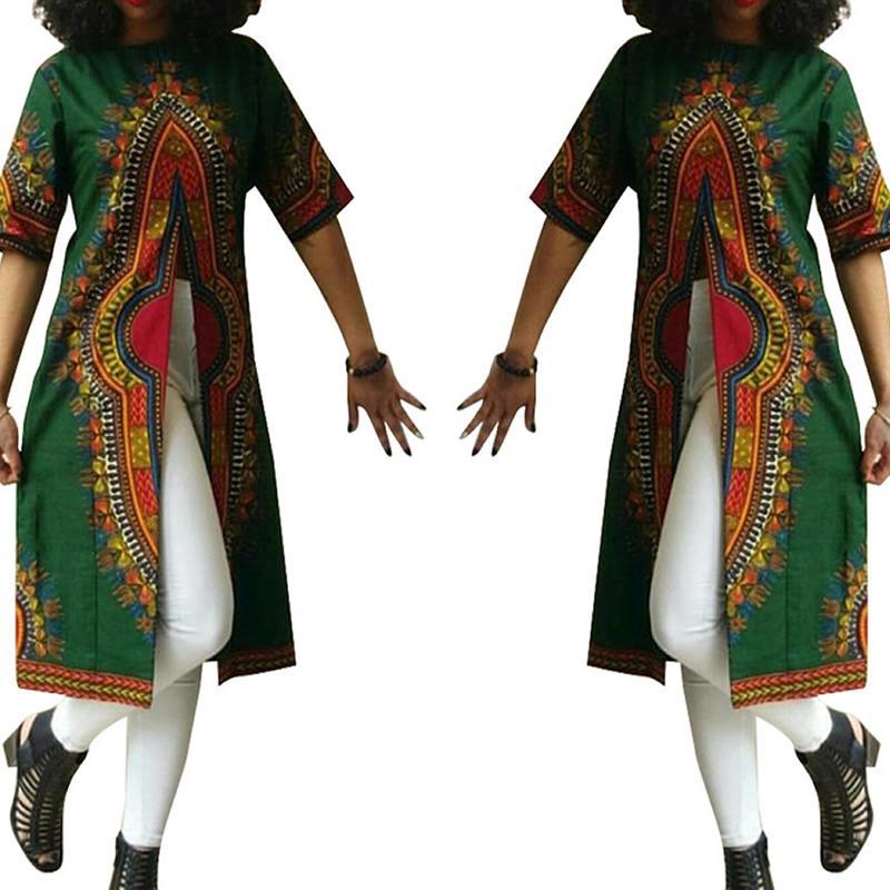 nuevo vestido de la manera mujeres de la marca de ropa de estilo nacional totem