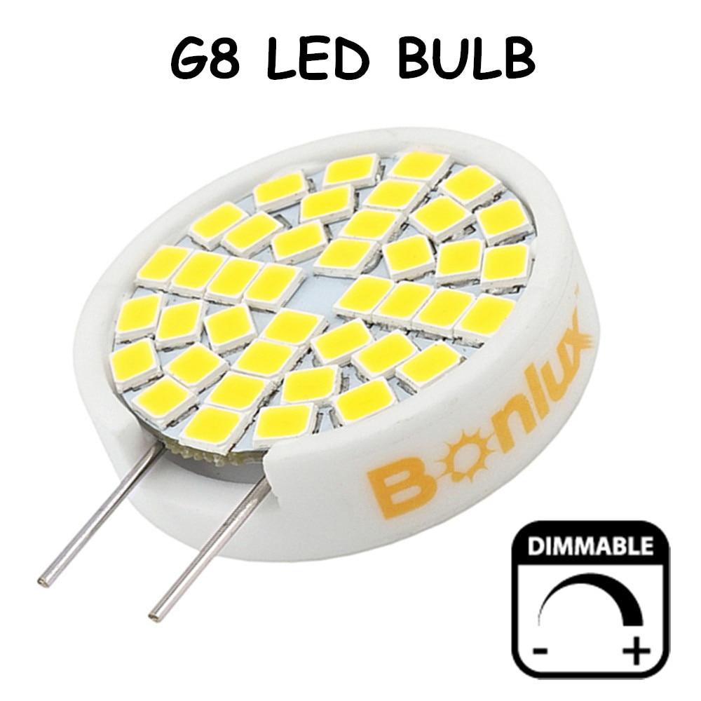 3W Dimmable LED G8 Bulb 25W G8 Halogen Replacement Lamp Ceramic Bi-pin Base LED Light 110V G8 Light for Kitchen Lighting 15w br40 led light bulb not dimmable e27 e26 screw base wide beam angle 120 degrees 100w halogen bulb equivalent