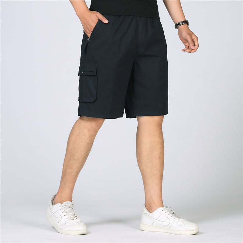 2018 New Summer Cargo Shorts Men Baggy Military Casual Shorts Cotton Multi-Pocket Men Work Capris Tactical Short Plus Size 6XL