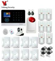 Yobang безопасности WI FI gsm grps sms приложение Управление Сенсор пожарной сигнализации Детекторы дыма сигнализации Умный дом/сад Охранной Сигнали