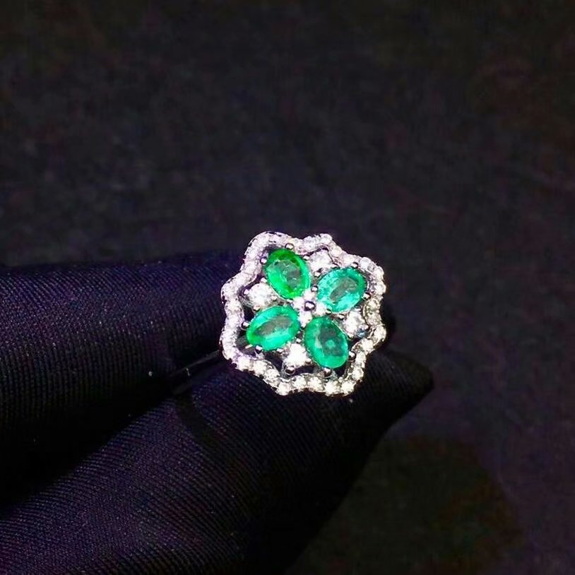 shilovem 925 sterling silver real Natural Emerald Rings fine Jewelry women trendy wedding open wholesale 3*4mm jcj0304agmlshilovem 925 sterling silver real Natural Emerald Rings fine Jewelry women trendy wedding open wholesale 3*4mm jcj0304agml