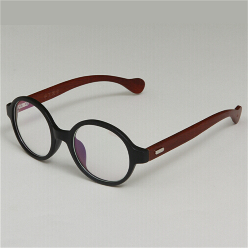 wood made vintage glasses frame retro and