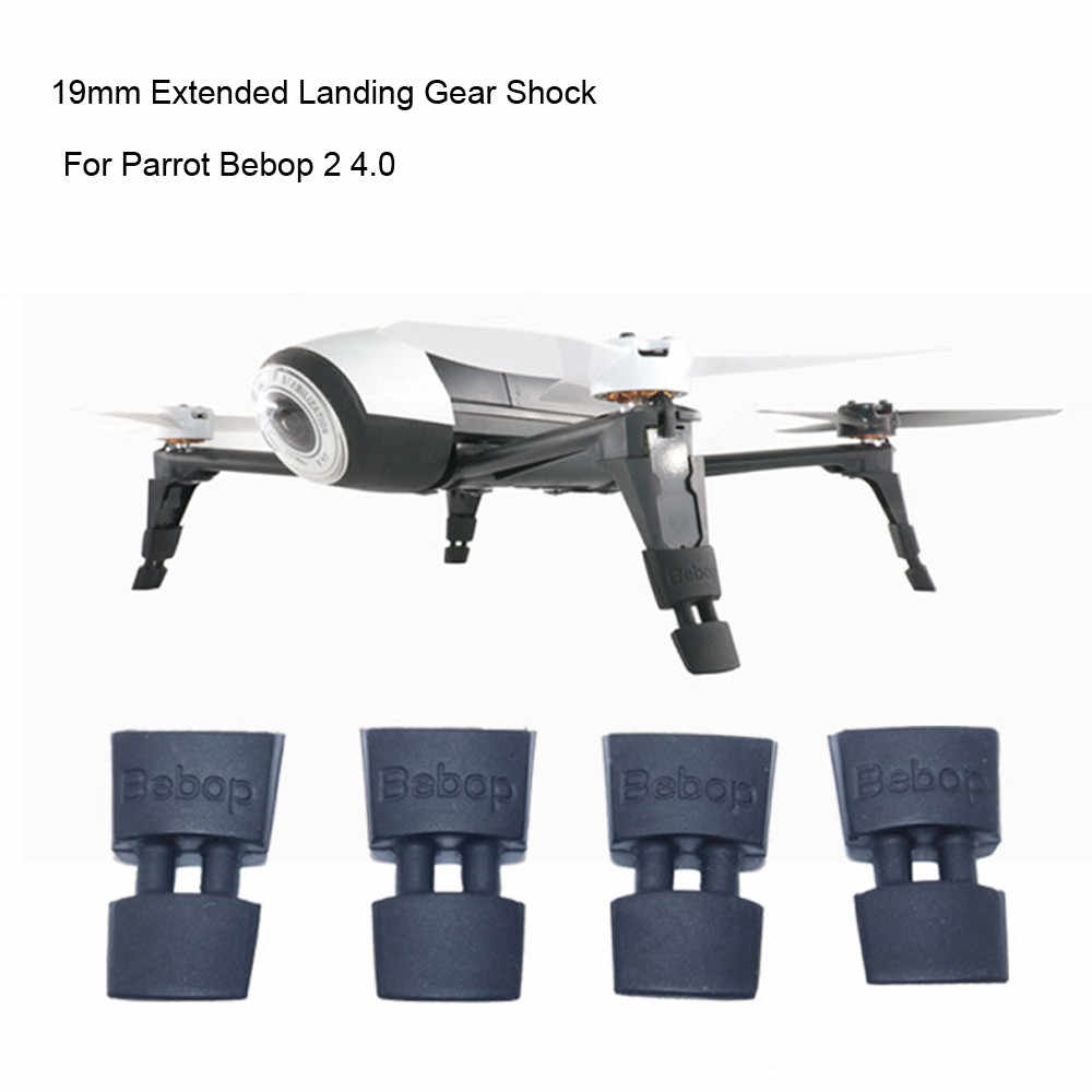 HIPERDEAL Drone สำหรับ Parrot 19 มิลลิเมตร Extended Landing Gear Extension Tripod สำหรับ Parrot Bebop 2 4.0 RC Drone BAY21