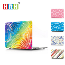 "HRH Creative Design Laptop Body Shell Protective Hard Case for Macbook Air 11"" 13""  Pro 13"" 15"" Pro Retina 12"" 13"" 15"" Touch Bar"