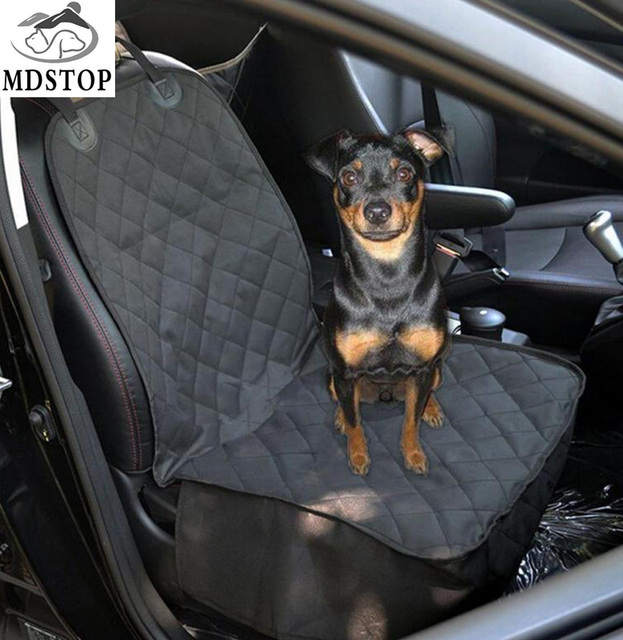 MDSTOP Pet Seat Cover Waterproof Dog Front Single Seat Cover for Car Truck  SUV Dog Cat Puppy Sea Protector Non Slip 40 20 Inch-in Dog Carriers from  Home ... e519077c9