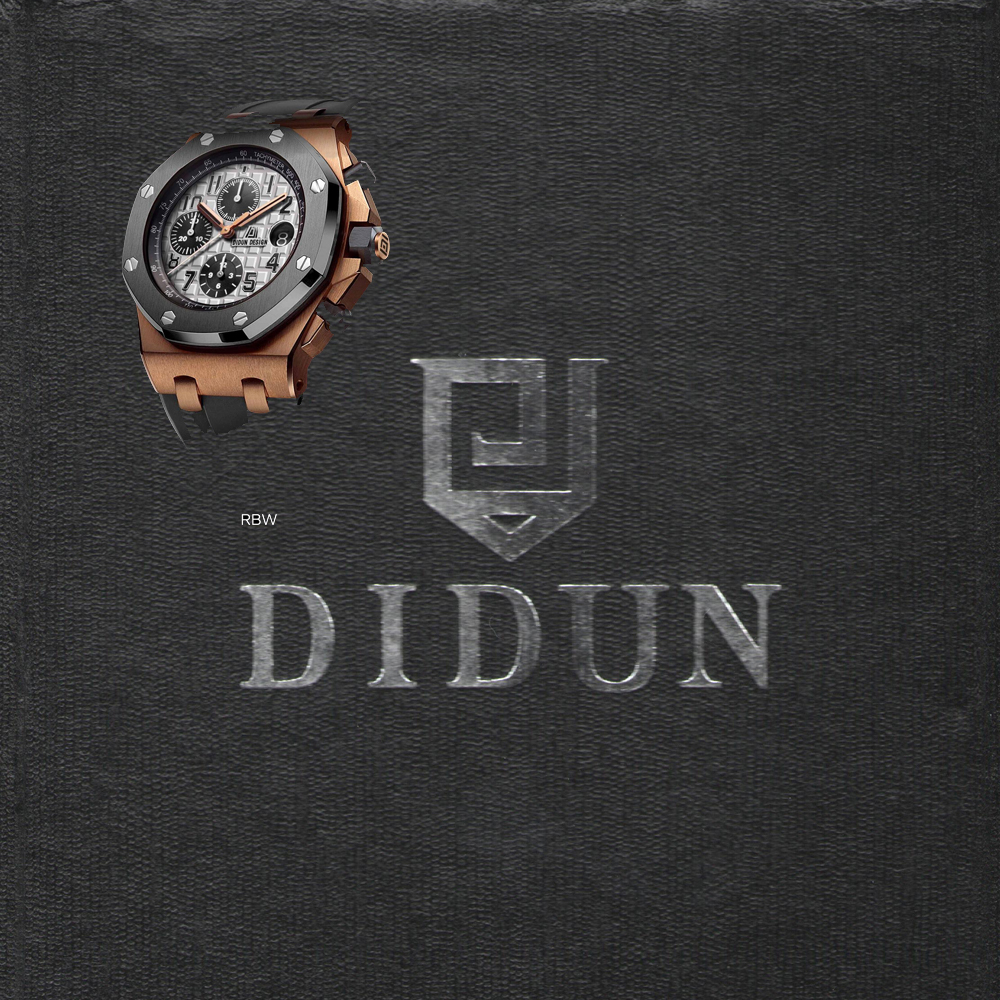 DIDUN Watch Mens Watches Top Brand Luxury Quartz Watch Fitness Waterproof Sports Chronograph Wristwatch Fast Shipping didun watches men luxury brand watches mens steel quartz watches men diving sports watch luminous wristwatch waterproof