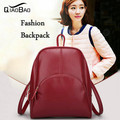 QIAO BAO Genuine Leather Backpack for women Trend simple fashion shoulder school travel bag casual all-match for feminina BP061