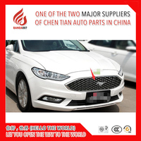 1 Piece ABS modify car front grille racing grills grill cover trim for Mondeo 2013 2014 2015 2016 2017 2018