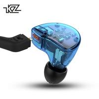 KZ ZS10 Headphones 10 Driver HIFI In Ear Earphone 4BA+1DD Dynamic Hybrid Detachable Bluetooth Cable Surround Sound Headset