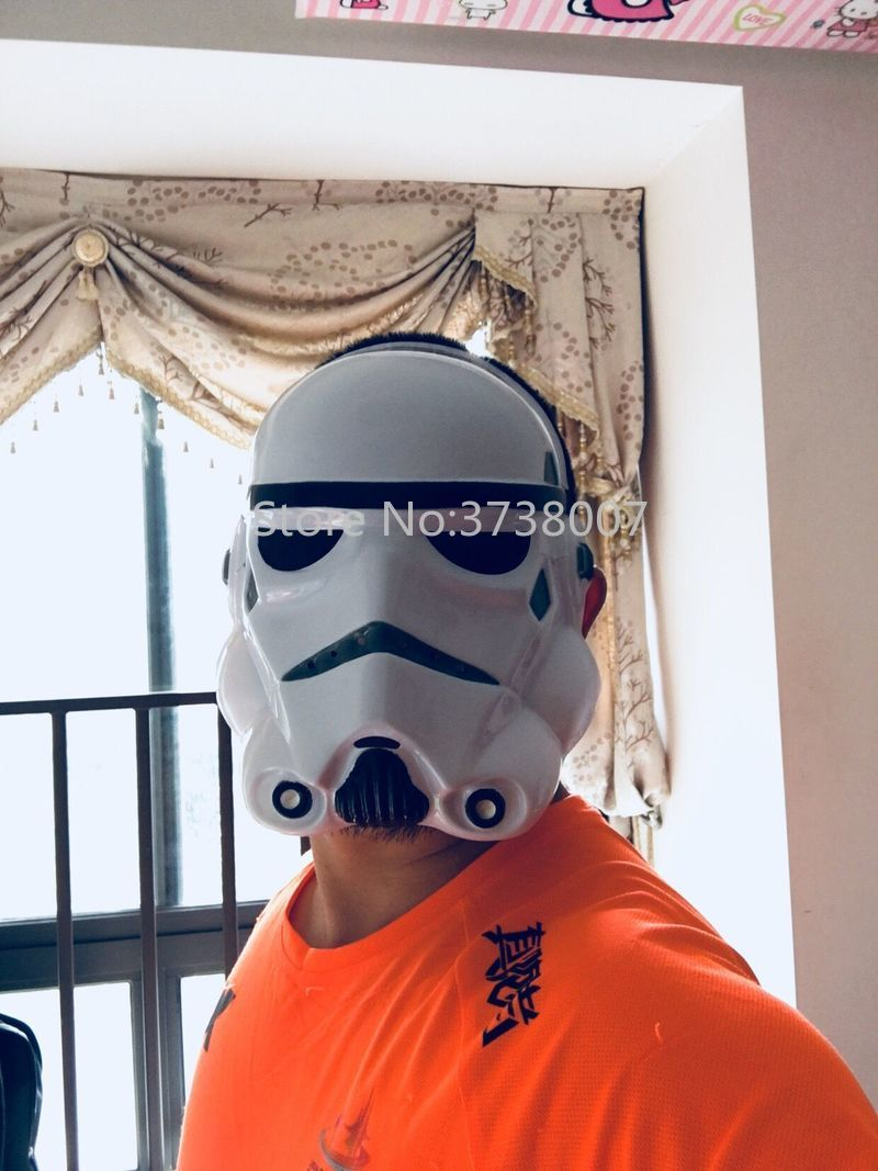 20Pcs/lot Star Wars Mask Darth Vader Empire Storm Clone Trooper Cosplay Soldiers Stormtrooper Party Halloween Mask-in Boys Costume Accessories from Novelty & Special Use    1