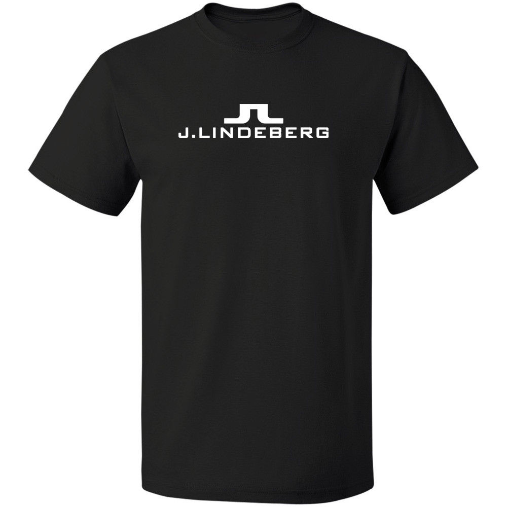 Logo Vintage T-Shirt J Lindeberg Golfer Free Shipping 100% Cotton S-3XL Short Sleeve T Shirt Men Comical Shirt MenS ...