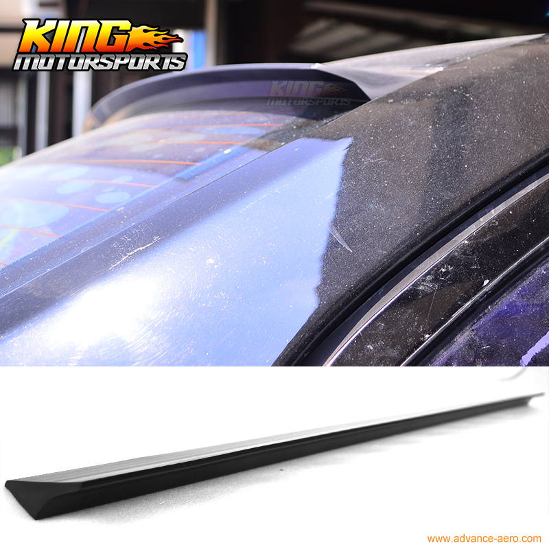 For 13 14 15 Nissan Sentra B17 4DR VRS Style Roof Spoiler Wing Unpainted PUF