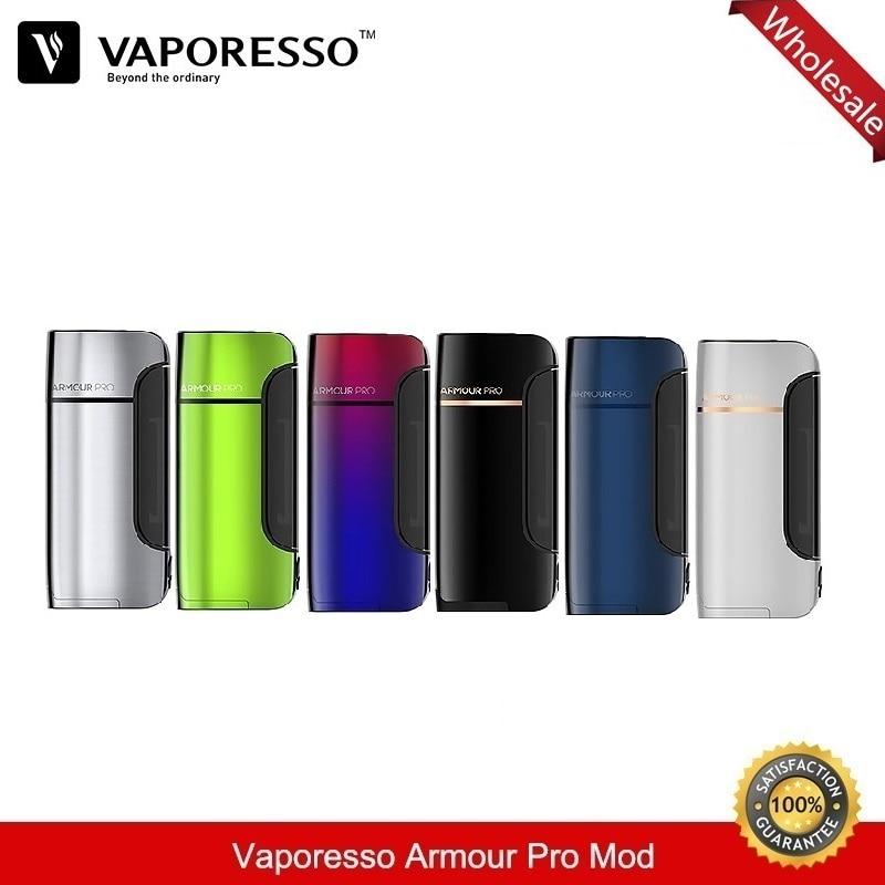 5pcs/lot Vaporesso Armour Pro Vape Box Mod 100W Electronic Cigarette Tc Mods 18650 Fit Cascade Baby Tank Vaporizer 21700 20700 цена и фото