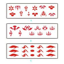 10pcs Temporary Tattoo Sticker Kids Photography Decoration Waterproof Fake Tattoo No stimulation Safety Scrubable Tatoo #A2(China)