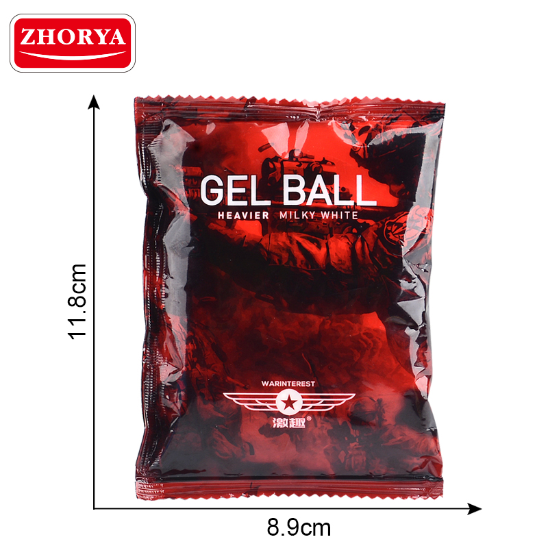 10000Pcs/Set Heavier Growing Gel Balls Bullet for Water Gun Toys Blaster 7-8mm Pearl Soft Crystal Water Beads Polymer Hydrogel