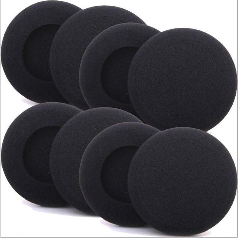 8 pack 5cm Headset Foam Ear Pads Ear Cushions Headphone Earpads 50mm diameter
