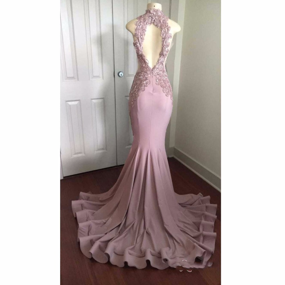Sexy Evening Dresses Appliques Arabic robe longue Custom Made abiye ...