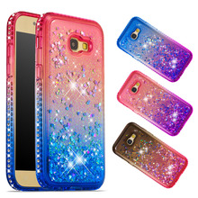 Quicksand Glitter Stars Flowing Water Liquid Case For Samsung Galaxy  S8 S9 Plus S8+ TPU Cover Phone case