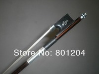 1 PC 4/4 Strong Balance Violin carbon Fiber bow, Coffee color & ebony frog 1005