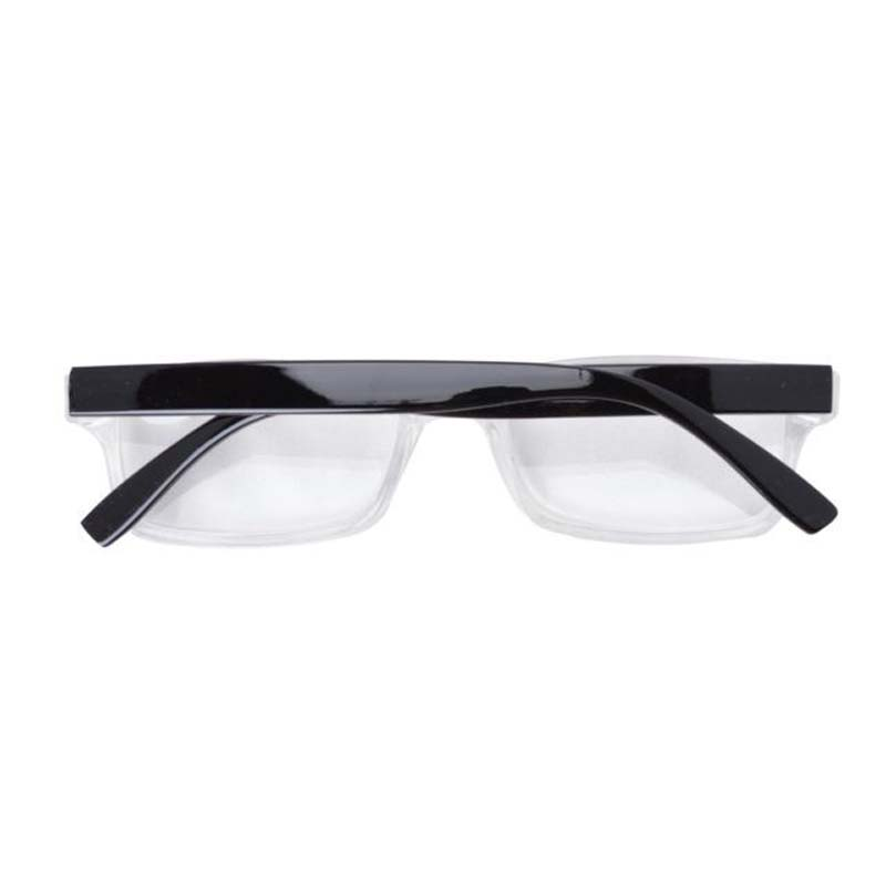 094fe25c285c FR003 Black Clear Fashion Quality Plastic Frame Reading Glasses With Case+1  1.25 1.5 1.75 2 2.25 2.5 2.75 3 3.5 4-in Reading Glasses from Apparel ...