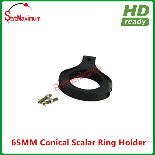 Free shipping C band LNB holder/bracket 65mm fixed C band LNBF on Ku dish