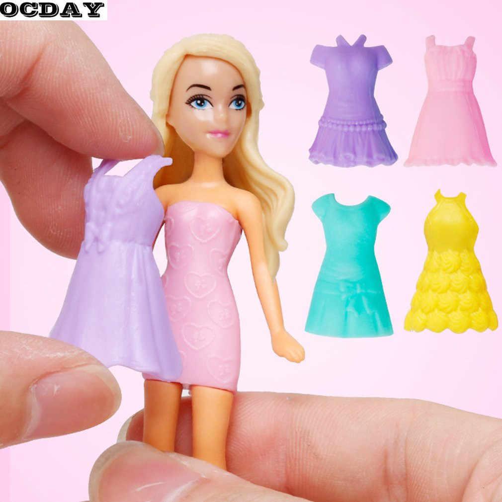 Juguetes De Muñeca De Casa De Juego Para Niñas Sorpresa Huevo Muñeca Niños Colección Figura Vestir Disfraz Juegos De Rol Juguetes