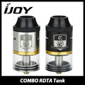 100% Original IJOY COMBO RDTA Tank 6.5ml E-cig Rebulidable Atomzier with Interchangeable Gold Plated Decks ijoy combo rdta Vape