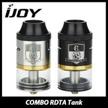 100% Оригинал IJOY COMBO RDTA Бак 6.5 мл Электронной сигареты Atomzier Rebulidable со Сменными Позолоченные Палубы ijoy combo rdta Vape